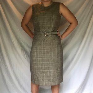Formal Grey Harve Bernard Dress